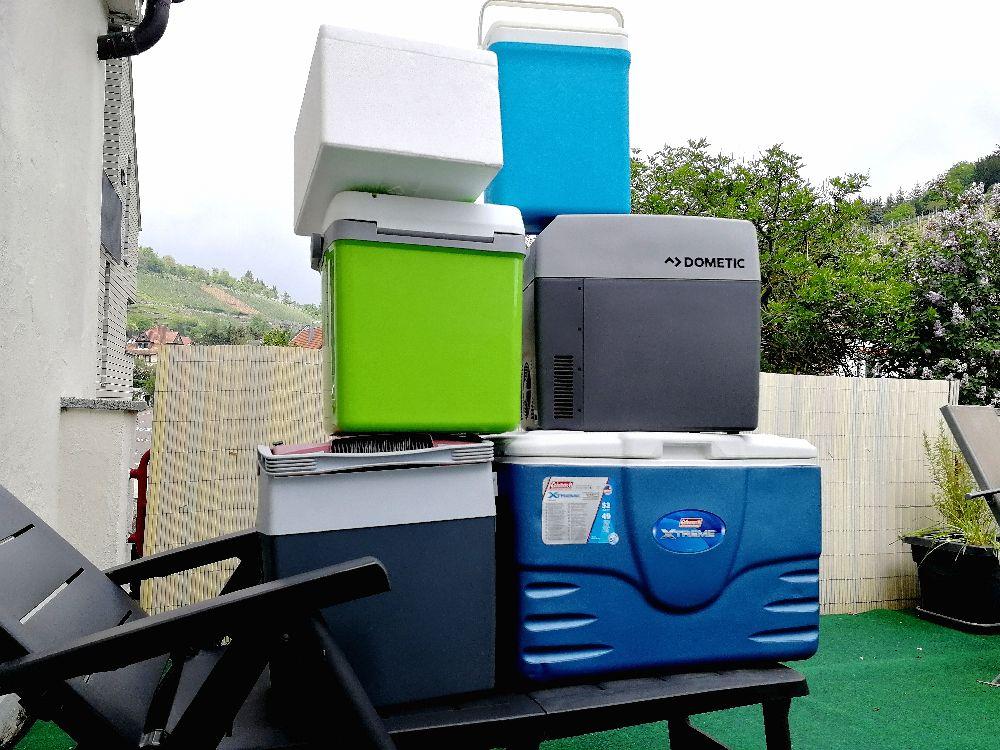 eine kleine Auswahl meiner Kühlboxen