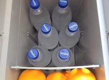 TC-21 mit 6 x 1 L Flaschen und ein paar Orangen gehen aucch noch rein