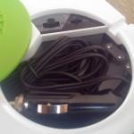 Kabelstaufach mit 12V und Netzanschluß