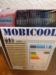 Die Mobicool G30 bei mir im Test