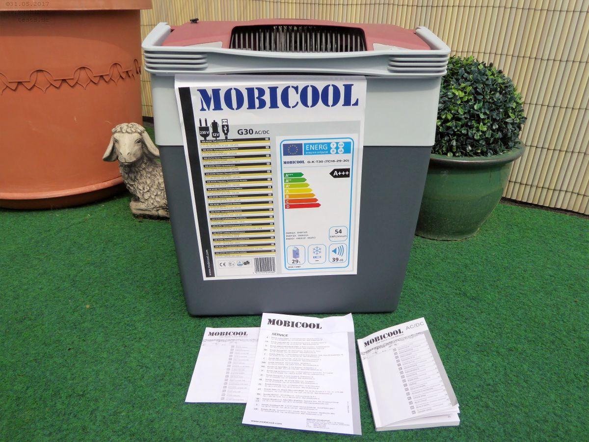mobicool g30 ac dc die elektrische k hlbox 12 v 230v im praxistest. Black Bedroom Furniture Sets. Home Design Ideas