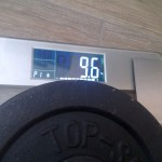 Waage mit Gewicht