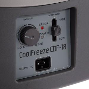 Waeco CoolFreeze CDF-18 Bedienfeld